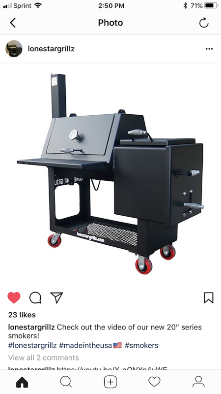 New from Lone Star Grillz - $1495!!! - Pitmaster Club